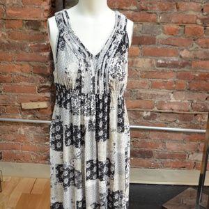 STYLE&CO LONG WOMENS SUMMER DRESS